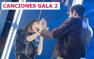 OT2017 Canciones Gala 2