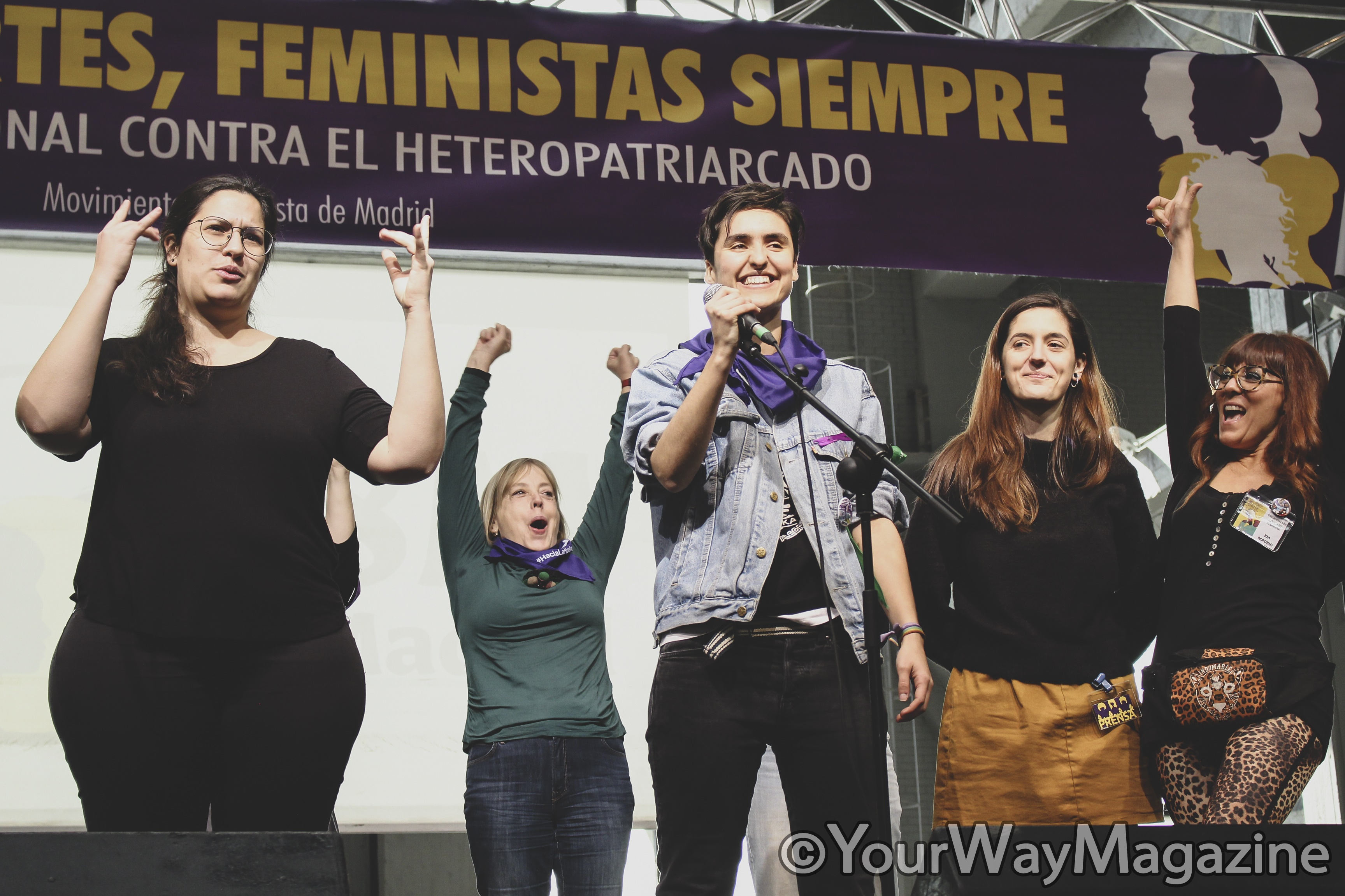 huelga del 8m eventazo feminista madrid alba reche