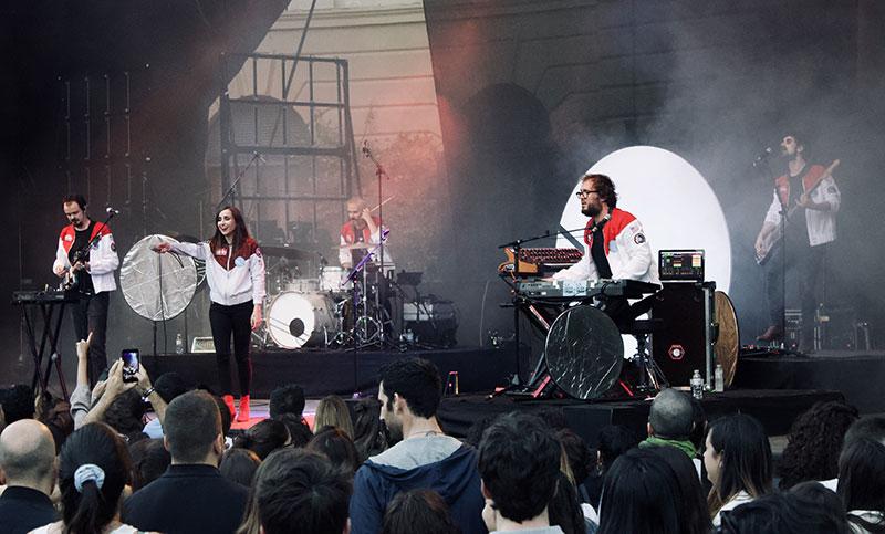 cronica fotos concierto zahara jardin pedralbes barcelona