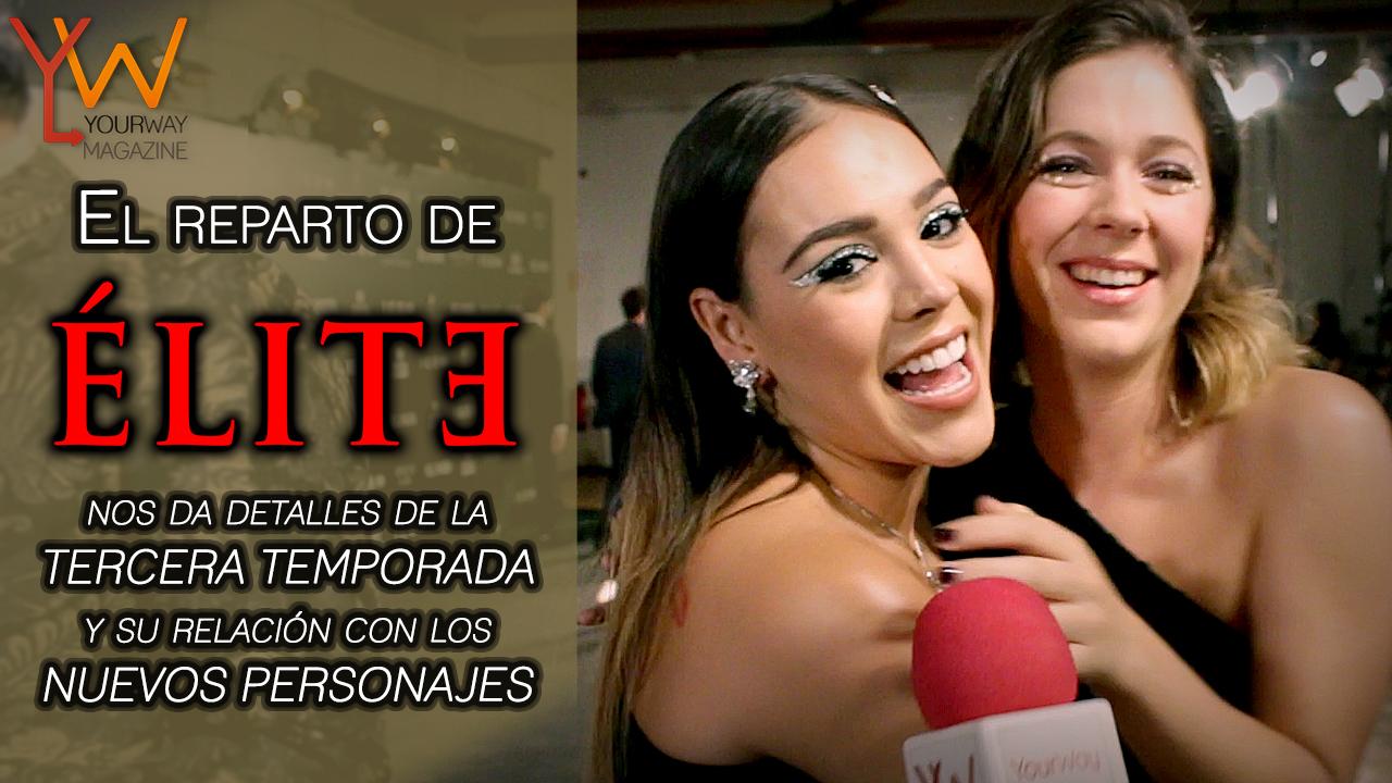 elite ÉLITE netflix tercera temporada personajes entrevista
