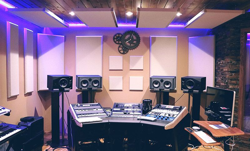 estudio de grabación de música para cine