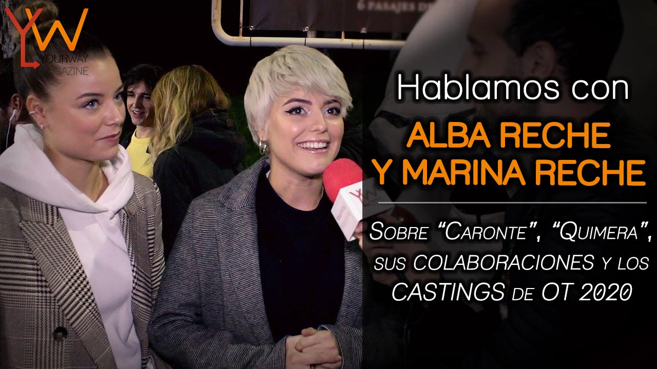 alba reche marina reche colaboracion quimera pol granch caronte entrevista casting ot 2020