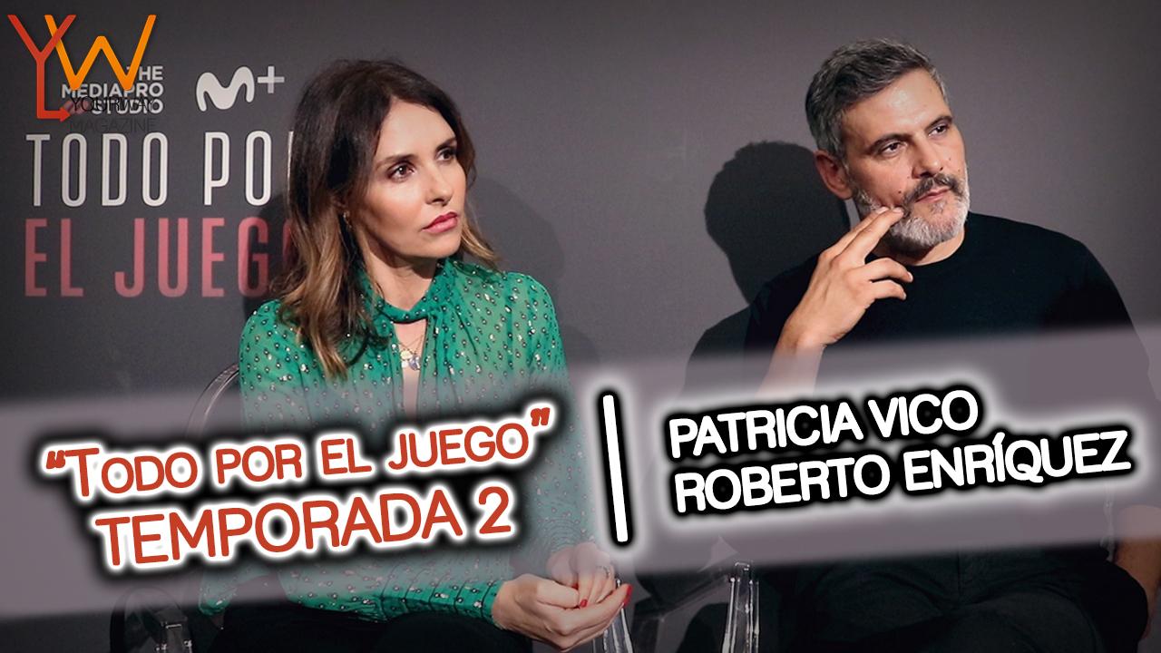 todo por el juego segunda temporada movistar roberto enriquez patricia vico entrevista personajes futbol corrupcion trailer